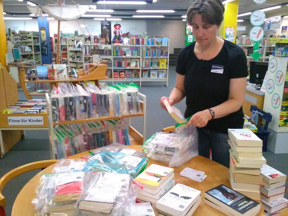 Sommer-Lese-Aktion 2018 der Stadtbücherei Ahrensburg